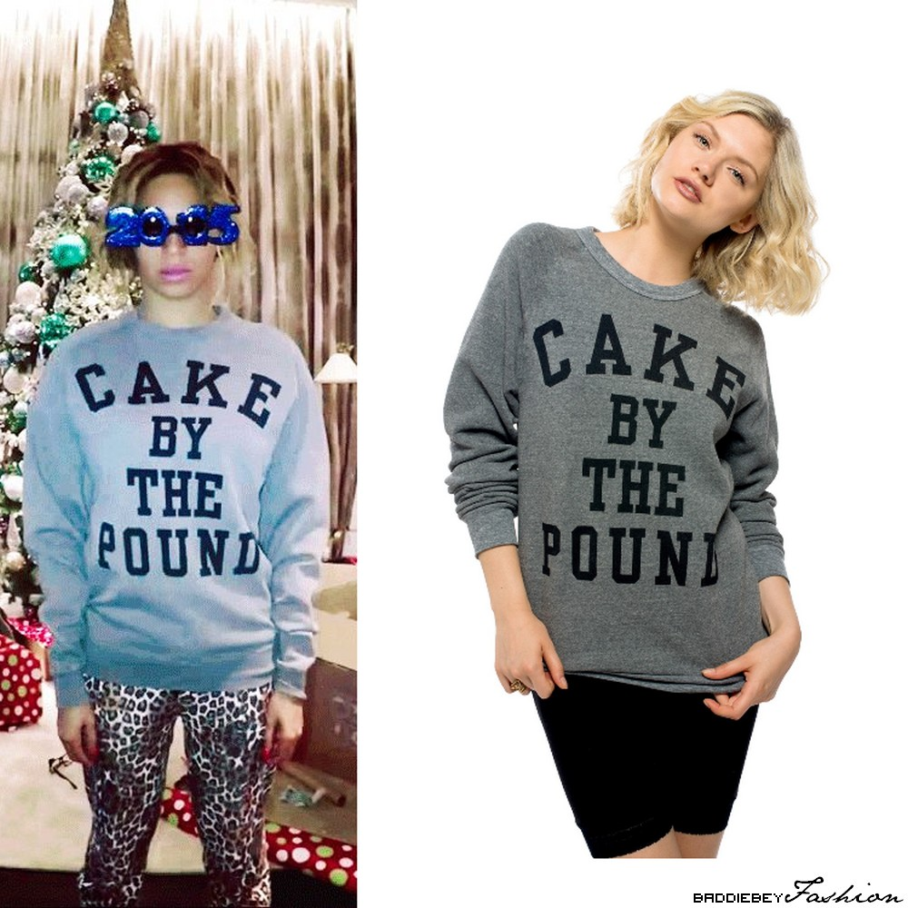 Beyonce Sweatshirt Cake By The Pound