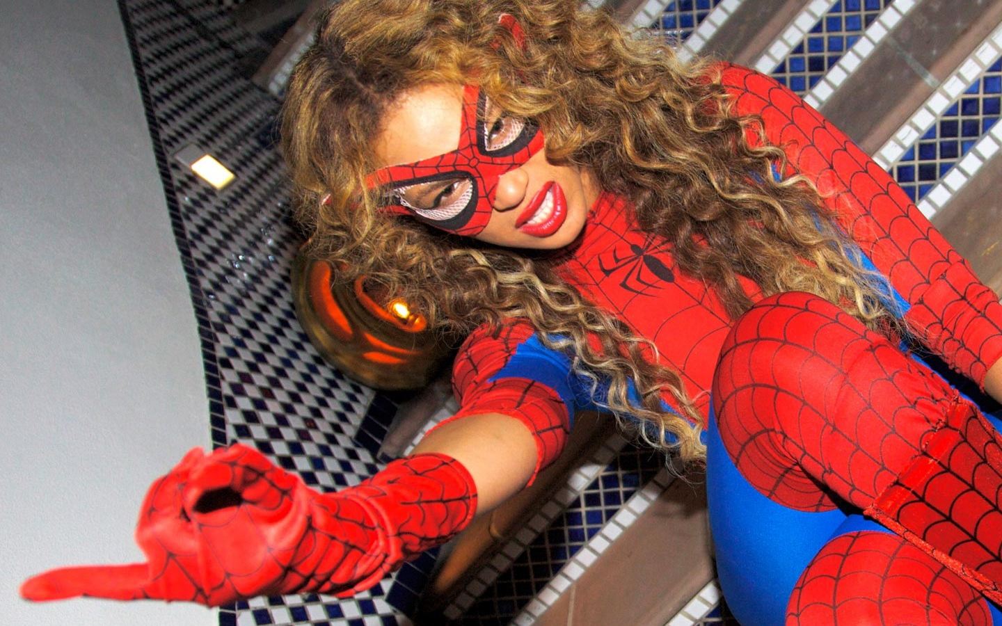 Beyonce Spiderman Halloween Costume Beyonce Spiderman Costume