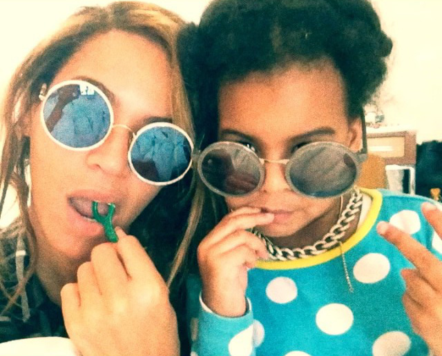 Beyonce blue flossin