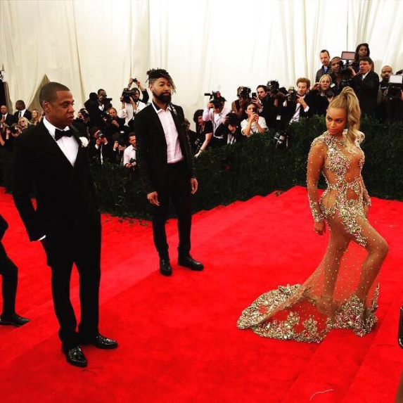 Image result for beyonce and jay z met gala 2015